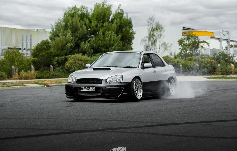 Cars Tuning Subaru Impreza Wrx Jdm Wallpaper: Wallpaper Turbo, Drift, Subaru, Japan, Smoke, Wrx, Impreza