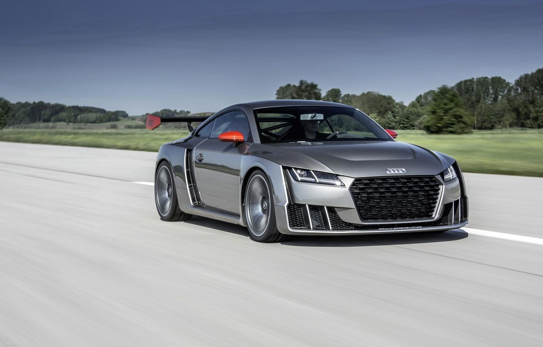 Photo wallpaper Audi, Audi, concept, turbo, 2015, clubsport