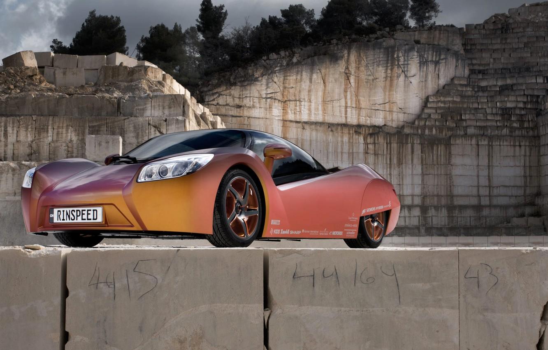 Photo wallpaper Rinspeed, supercar, ichange