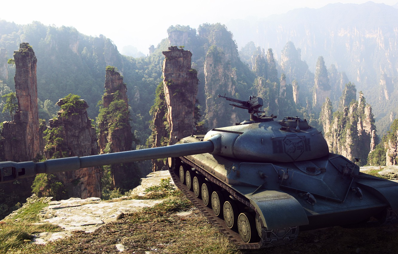 Photo wallpaper China, art, tank, China, tanks, WoT, World of Tanks, S. T. V. O. L.