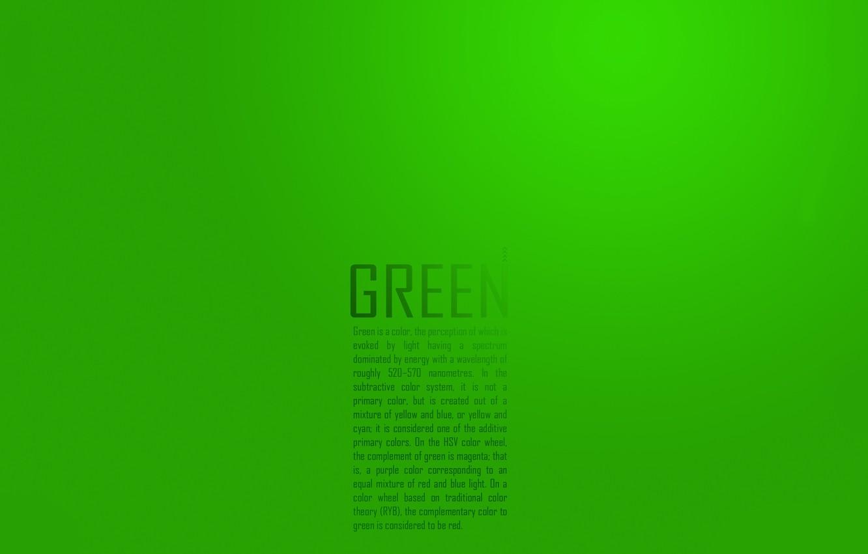 Photo wallpaper letters, minimalism, characters, green, words, lyrics, phrase, designation, green minimalism words