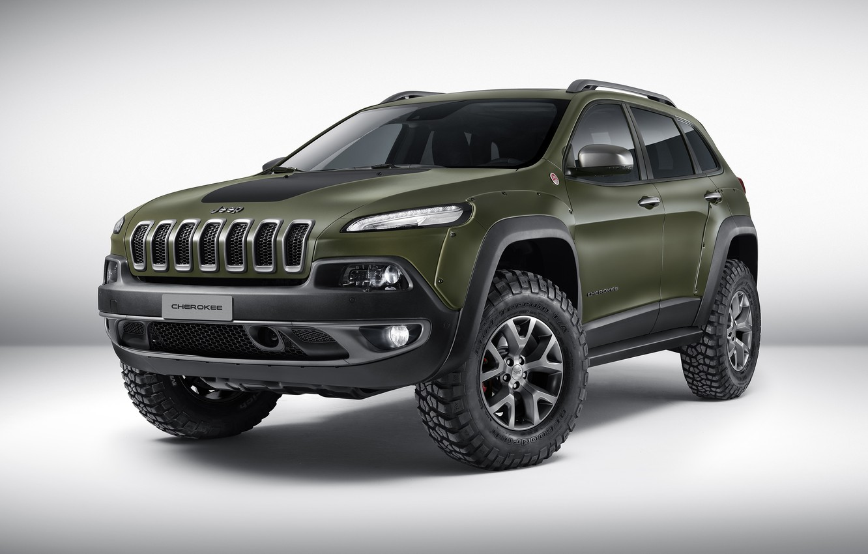 Photo wallpaper Concept, jeep, the concept, Jeep, Cherokee, Cherokee, 2015