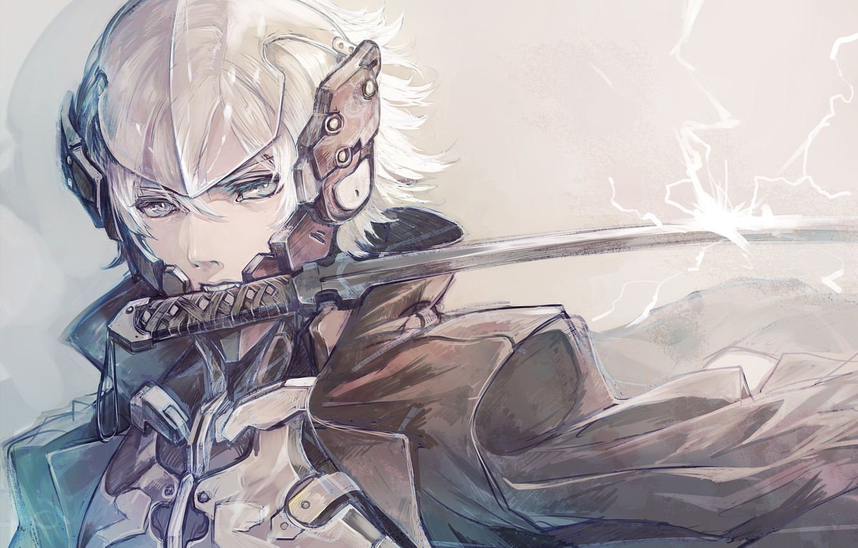 Photo wallpaper Art, Raiden, Metal Gear Rising: Revengeance, Senano Yu