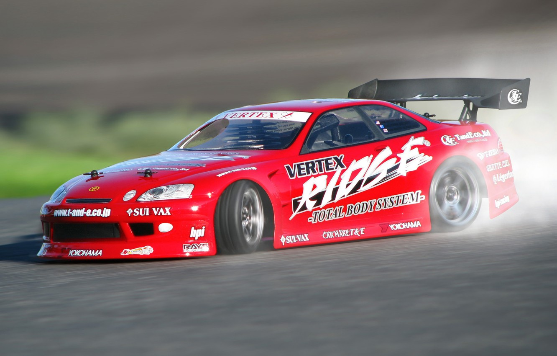 Photo wallpaper Toyota, Drift, Car, Racing, Soarer