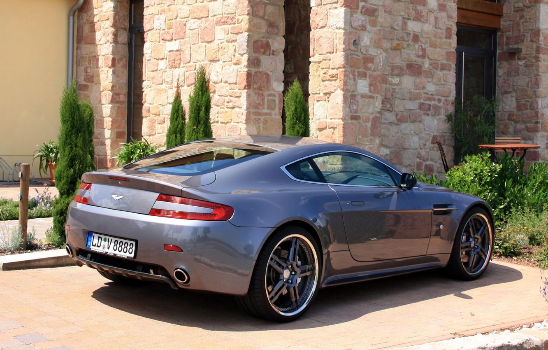 Photo wallpaper auto, Aston Martin, tuning, Vantage, Aston Martin, back, Cargraphic, cargraphic