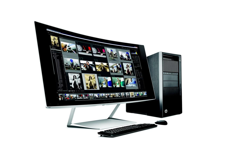 Photo wallpaper computer, CPU, monitor, PC, HP, HP Z840 Desktop Workstation, workstation, HP Z840 Workstation, HP Z840