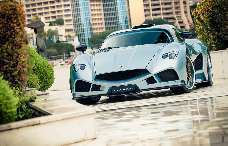 Photo wallpaper car, auto, supercar, Monte Carlo, Mazzanti Evantra