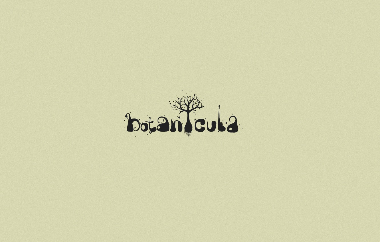 Photo wallpaper tree, the game, logo, font, masterpiece, botanicula