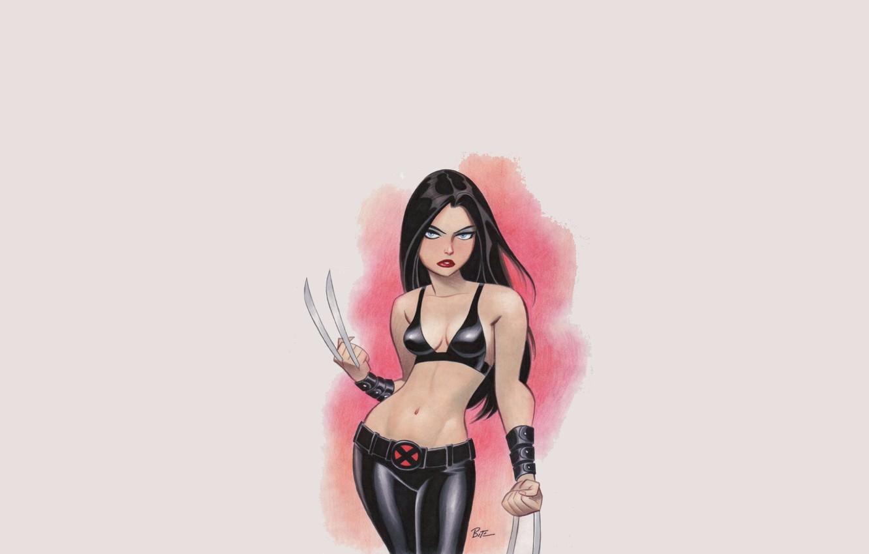 Photo wallpaper girl, marvel, x-men, Comics, X-23, Laura Kinney