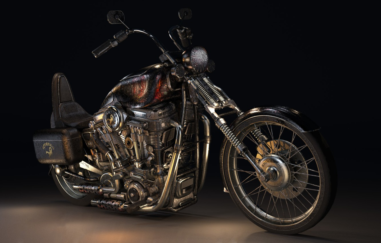 Photo wallpaper Moto, Scorpio, bike