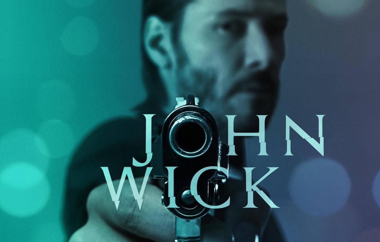 Photo wallpaper cinema, gun, pistol, hitman, actor, weapon, man, movie, assassin, film, Keanu Reeves, mustache, dangerous, beard, …