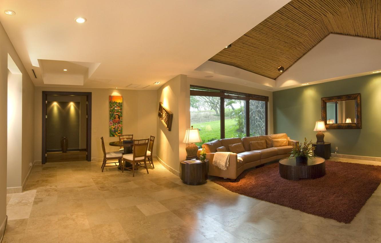 Photo wallpaper design, house, style, Villa, interior, living space, hasienda, Casa Caiman In Costa Rica