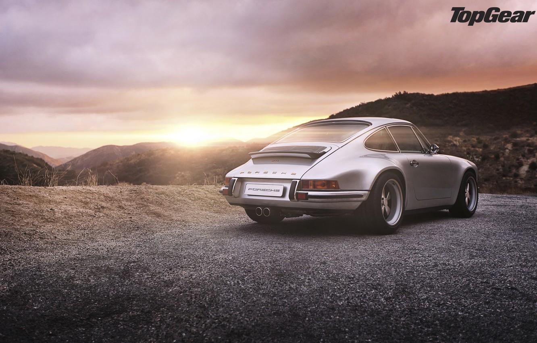 Photo wallpaper nature, Porsche, top gear, porsche 911, hd wallpaper