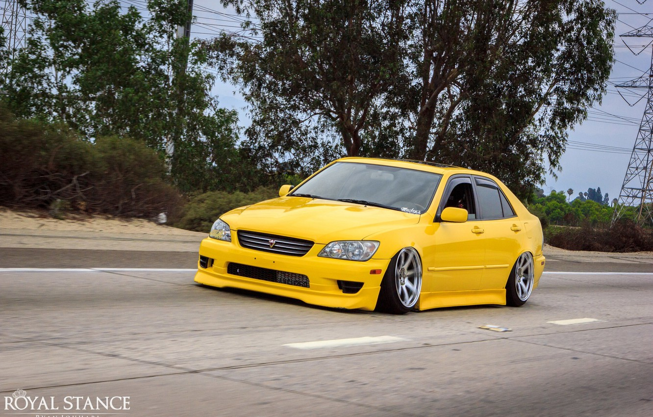 Photo wallpaper turbo, lexus, japan, toyota, jdm, tuning, height, is200, stance, is300