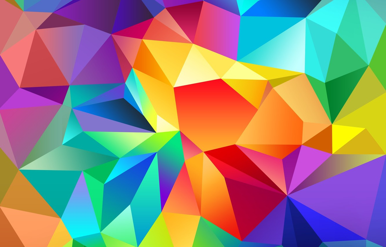 Photo wallpaper Galaxy, Colors, Samsung, Abstraction