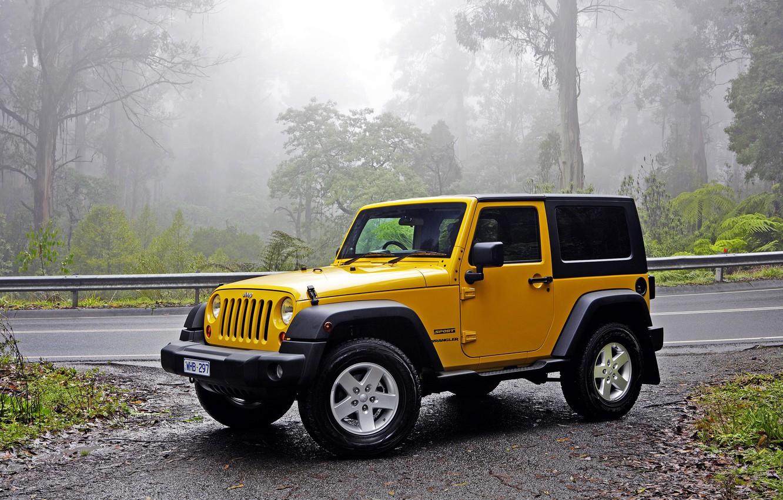 Photo wallpaper jeep, Wrangler, Jeep, Wrangler