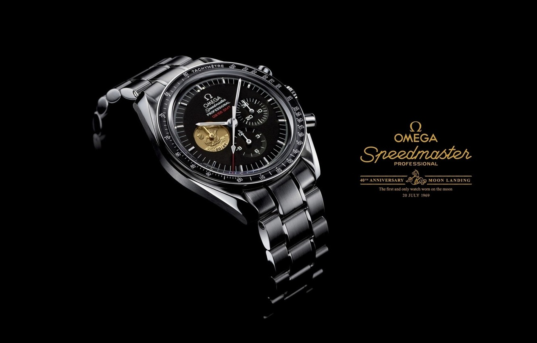 Photo wallpaper watch, 1969, OMEGA, speedmaster Professional, moon landing watch