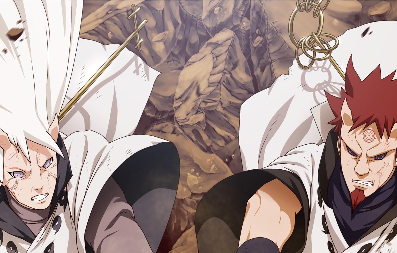 Photo wallpaper naruto, brothers, manga, hamura, hagoromo, ootsutsuki clan, carl1tos