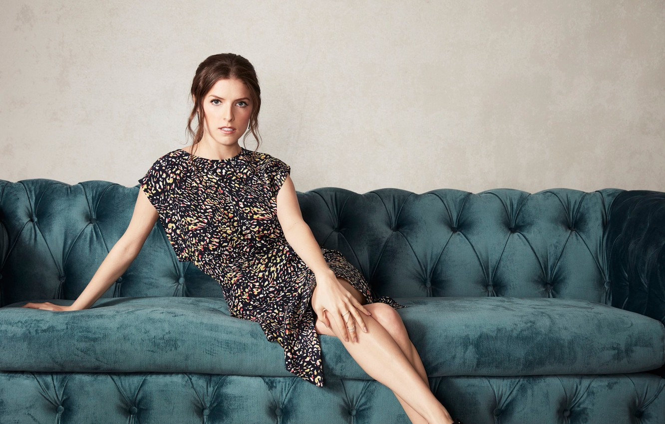Photo wallpaper makeup, dress, actress, hairstyle, brown hair, on the couch, photoshoot, posing, sitting, for the film, …