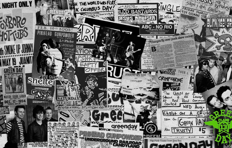 Wallpaper Green Day Punk Rock Mike Dirnt Billie Joe Armstrong