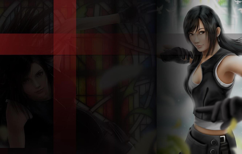 Photo wallpaper Final Fantasy 7, ff7, Tifa, Lokhart, Lockhart, Typhus
