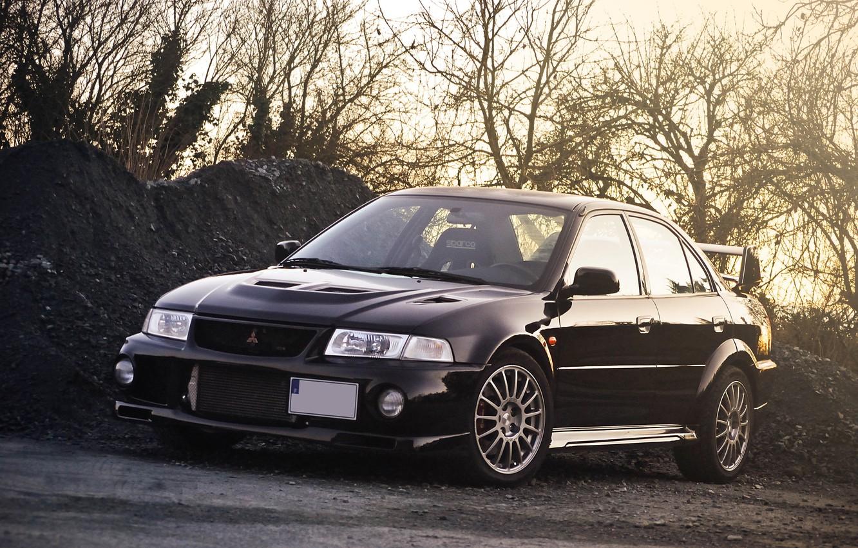 Photo wallpaper Mitsubishi, Lancer, Evolution