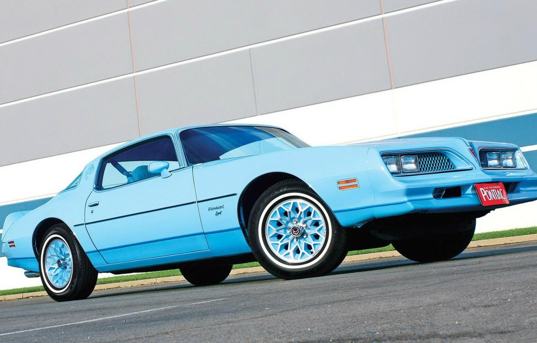 Photo wallpaper muscle, muscle car, classic, pontiac, trans am, firebird