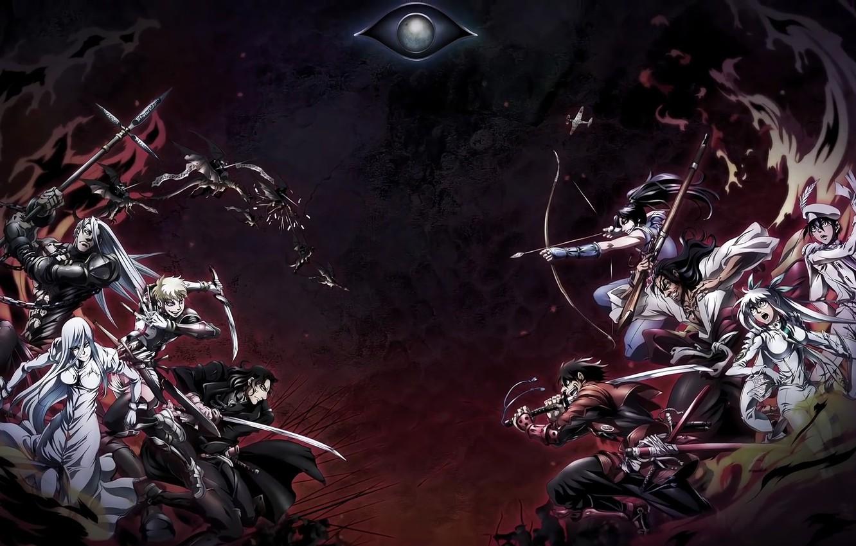 Photo wallpaper wallpaper, battlefield, game, seal, war, anime, man, american, dragon, eye, samurai, hero, asian, bow, manga, …