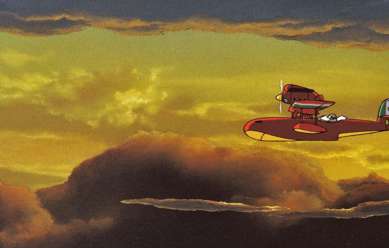 Wallpaper The Sky Clouds Flight The Plane The Evening