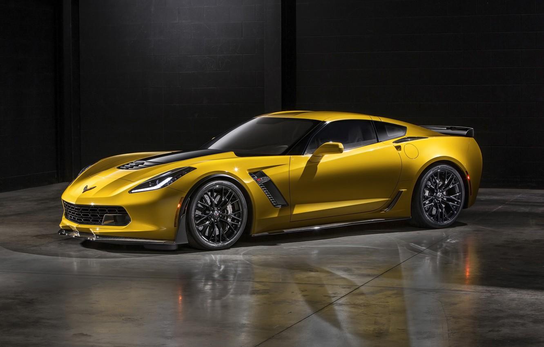 Photo wallpaper car, Z06, Chevrolet Corvette, Corvette, rechange