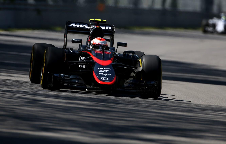Photo wallpaper McLaren, Shadow, Formula 1, Jenson Button, MP4-30
