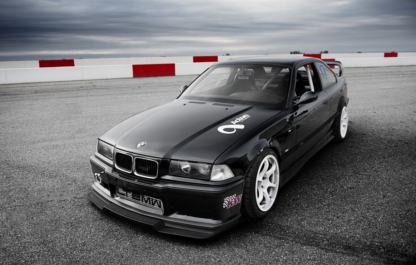 Photo wallpaper tuning, bmw, BMW, coupe, 3 series, a three-pointer