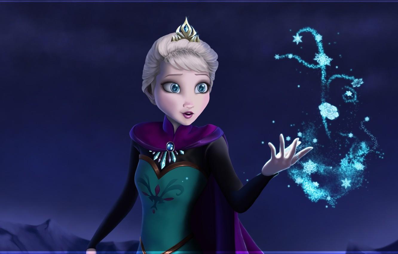 Photo wallpaper frozen, disney, disney, Elsa, cold heart, let it go