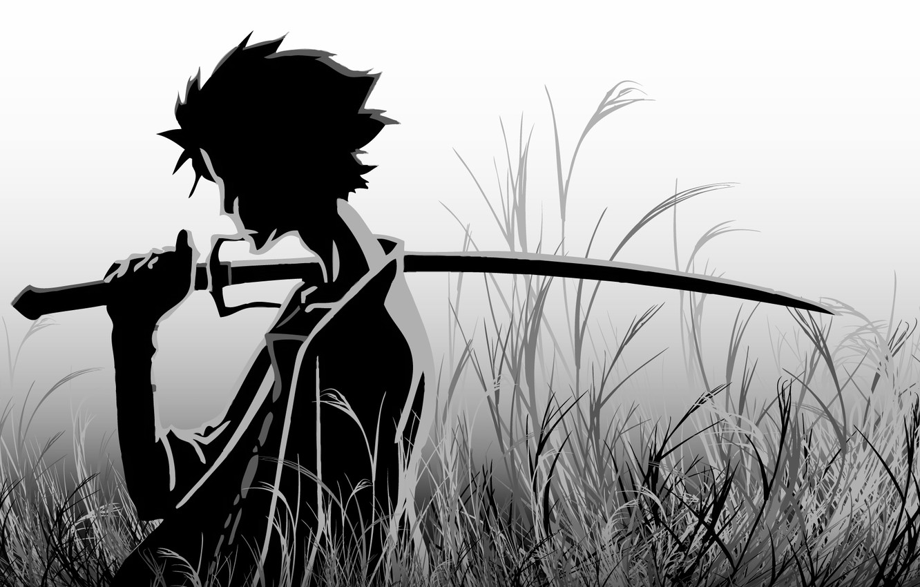 Wallpaper Katana Anime Samurai Champloo Images For Desktop