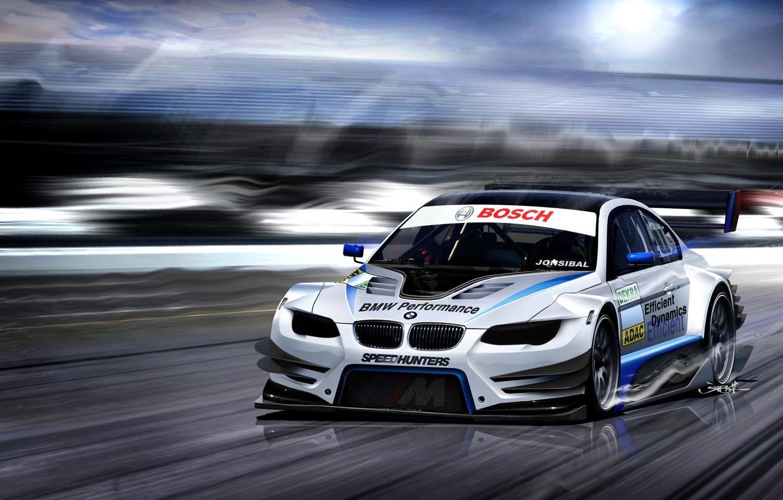 Photo wallpaper tuning, speed, BMW
