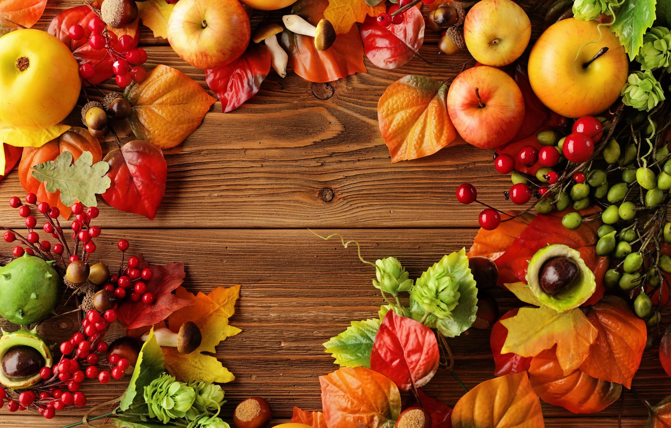 Wallpaper Autumn Leaves Apples Still Life Autumn Leaves Fruit Still Life Berries Apples Harvest Images For Desktop Section Eda Download