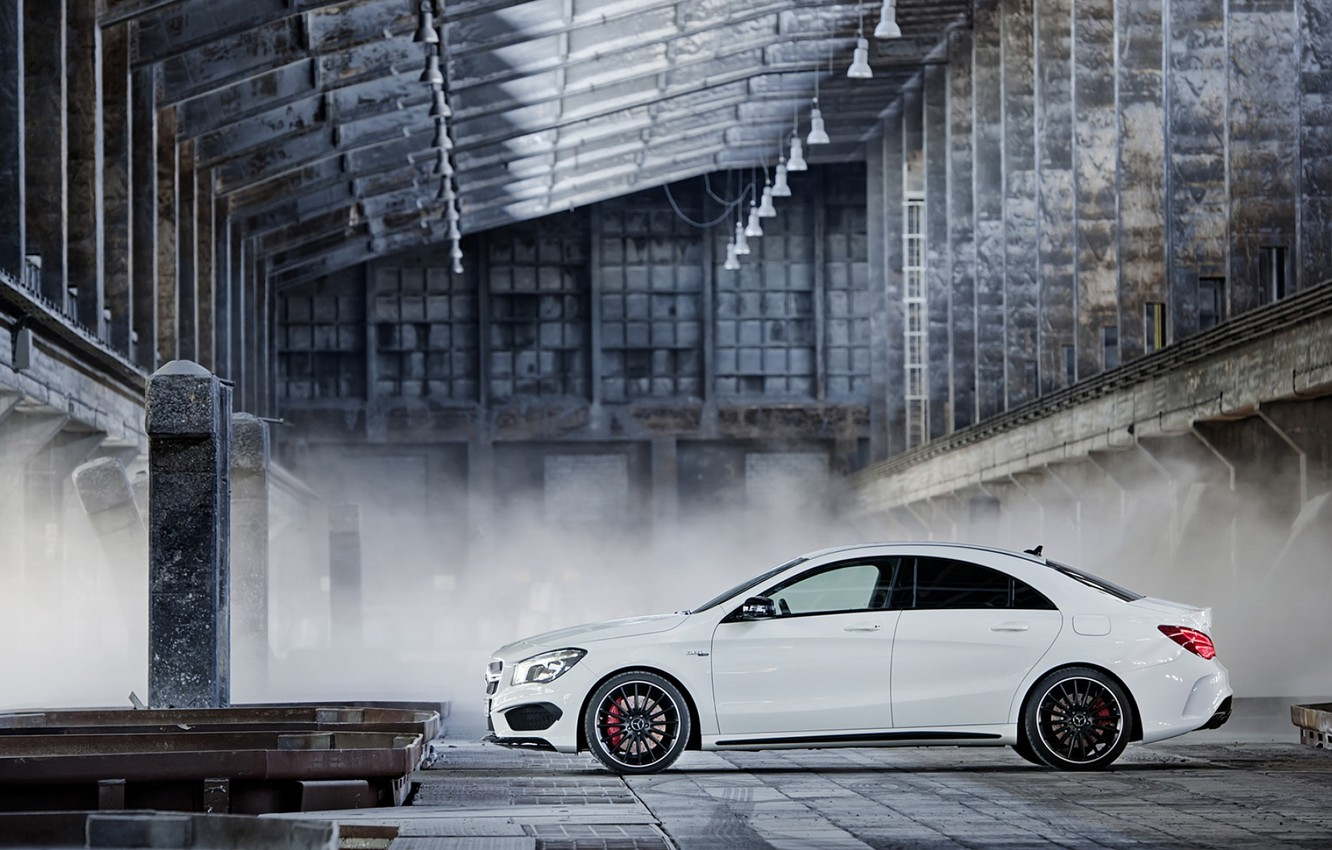 Photo wallpaper Mercedes-Benz, AMG, 2014, CLA45