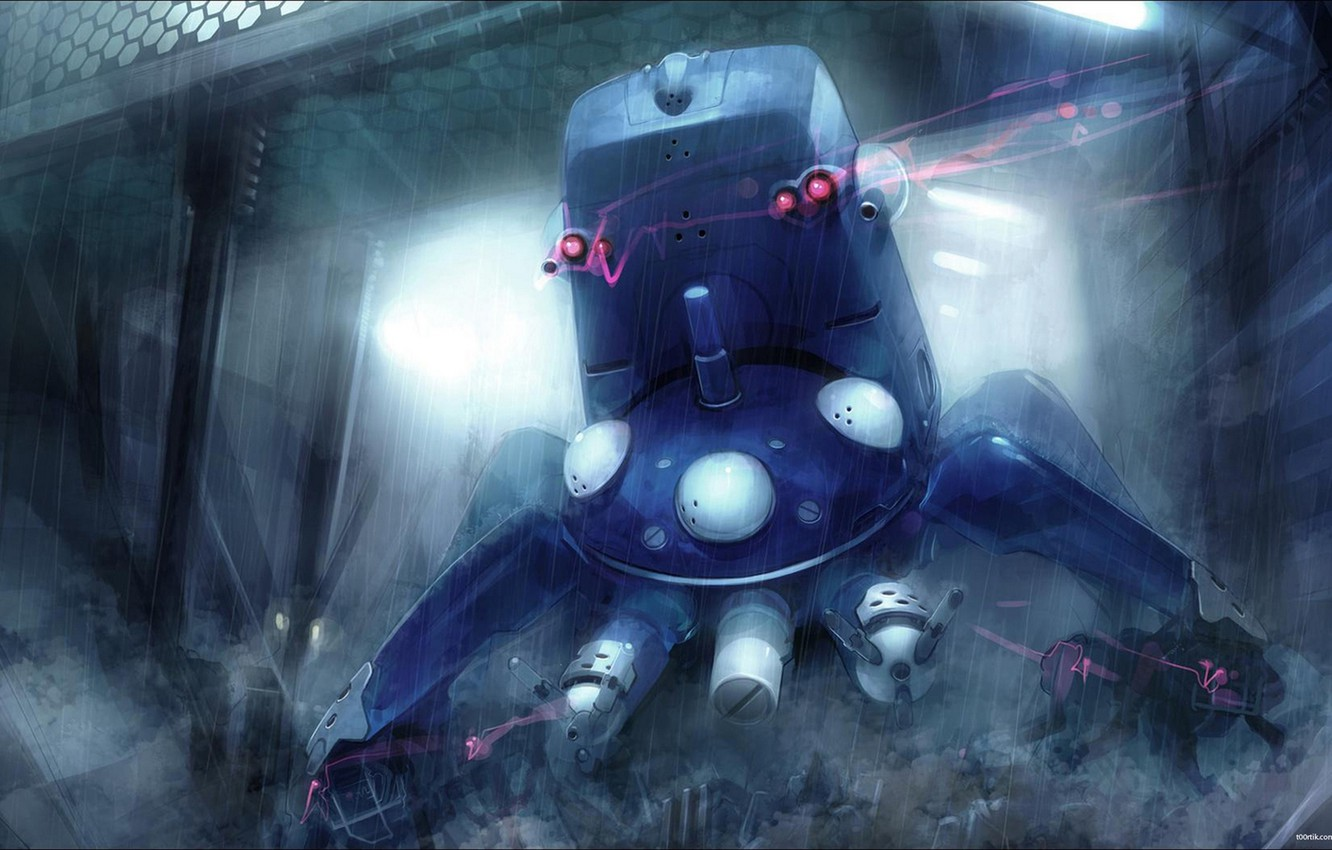 Photo wallpaper tachikoma, Ghost in the Shell, Ghost in the shell