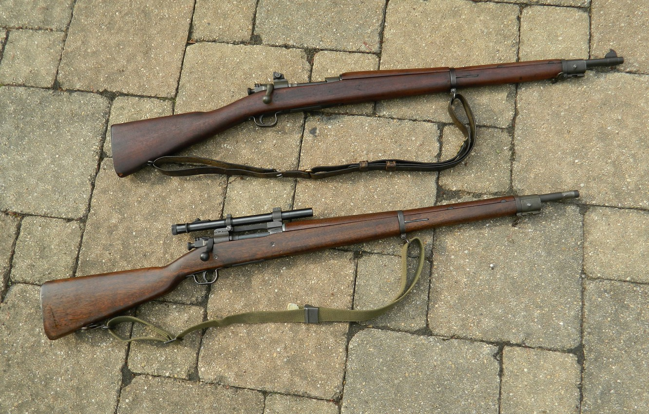 Photo wallpaper weapons, rifle, store, M1903A3