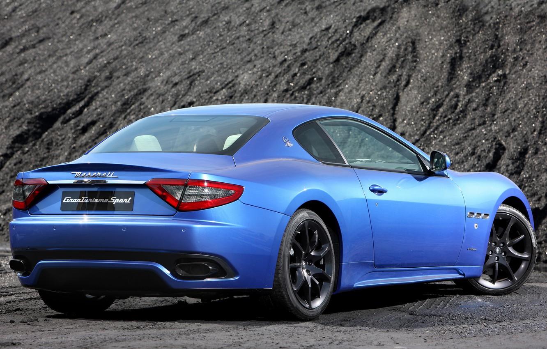 Photo wallpaper auto, Maserati, GranTurismo, Maserati, Sport