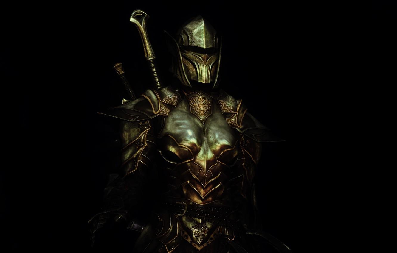 Photo wallpaper girl, rendering, background, armor, warrior, helmet