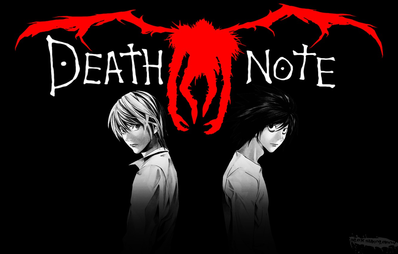 Wallpaper Light Death Note Light Death Note Anime Ryuk