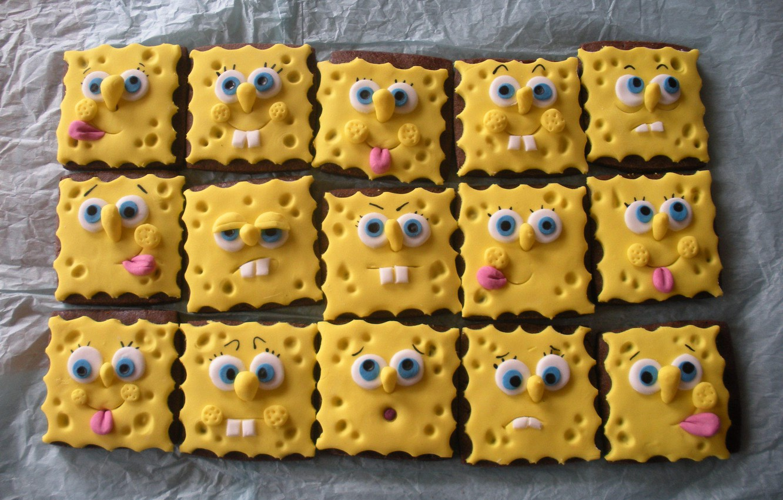 Photo wallpaper Smile, sponge, Bob, sponge Bob