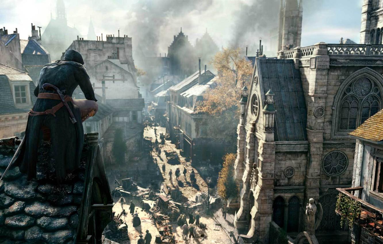 Wallpaper France, Paris, assassins