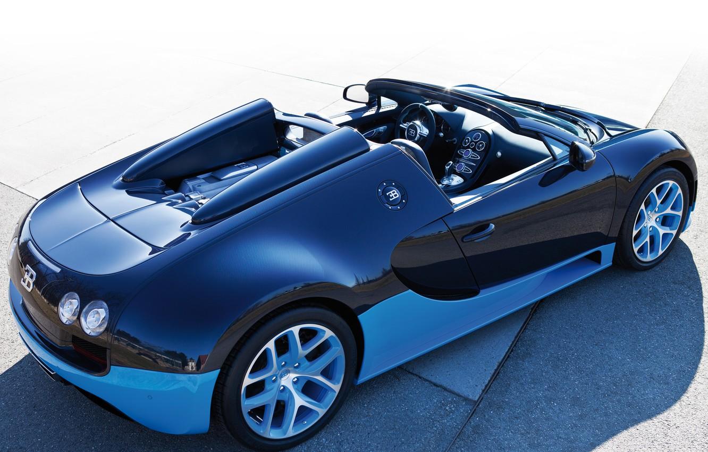 Photo wallpaper Roadster, Machine, Bugatti, Bugatti, Veyron, Machine, Veyron, Car, Car, Cars, Cars, Grand Sport, Grand Sport, …