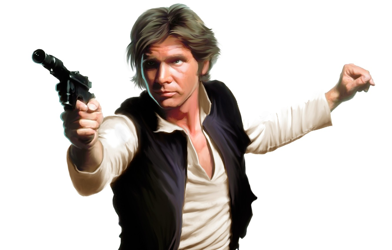 Wallpaper Han Solo Fiction Art Star Wars Harrison Ford Images