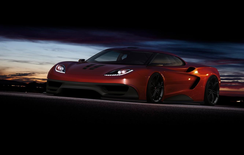 Photo wallpaper supercar, render, rechange, McLaren, virtual tuning, mclaren f1