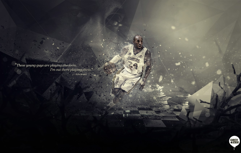 Photo wallpaper Sport, Basketball, Los Angeles, NBA, Lakers, Kobe Bryant, Los Angeles, Player, Kobe Bryant, Lakers