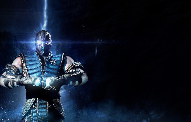 Wallpaper Sub Zero Mortal Kombat X Blue Ninja Images For