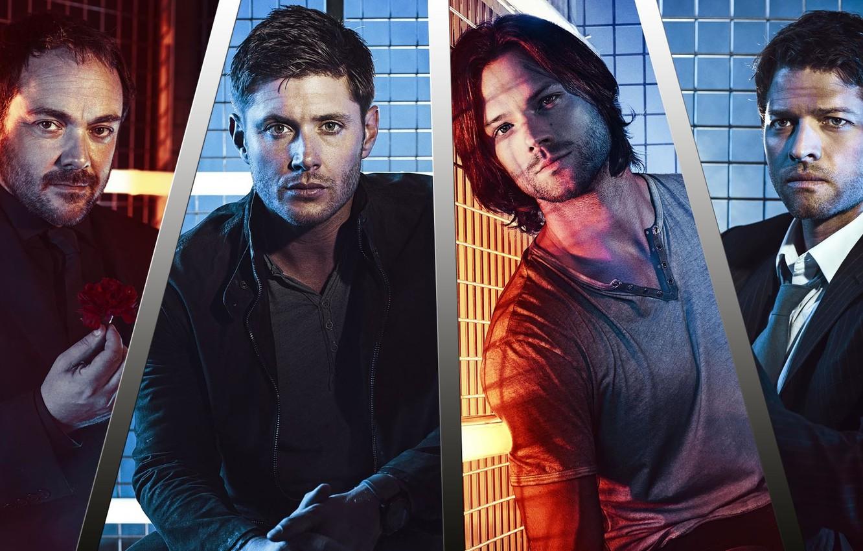 Photo wallpaper Supernatural, Jensen Ackles, Supernatural, Dean Winchester, Sam Winchester, Over The Padalecki Jared, Castiel, Misha Collins, …